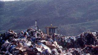 Una discarica rifiuti
