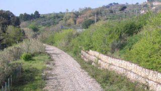 ex tracciato ferroviario