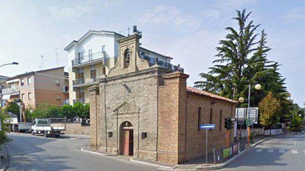 L'antica chiesetta della Madonna dei 7 Dolori
