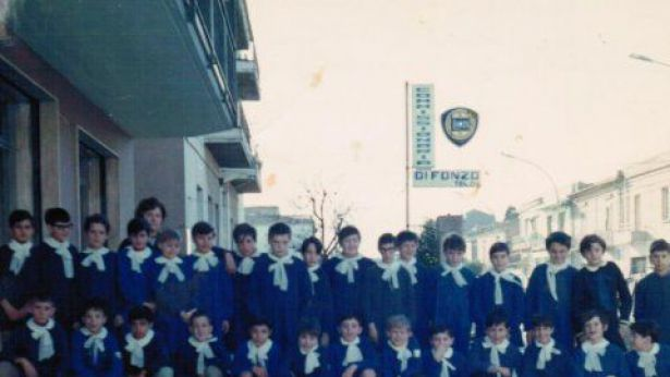 5^ elementare, anno scolastico 1970/71, palazzo Di Fonzo