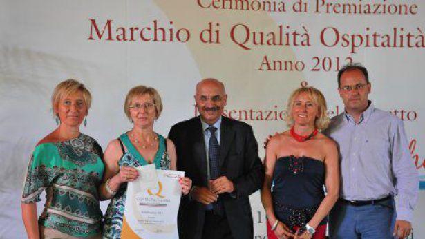 Assegnazione del Marchio di Qualità Ospitalità Italiana