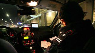 Pattuglie dei Carabinieri di notte