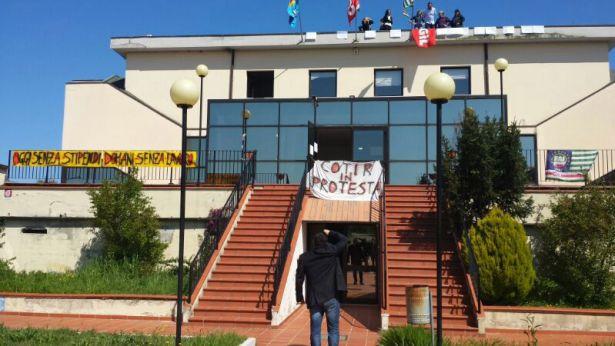 Protesta al COTIR