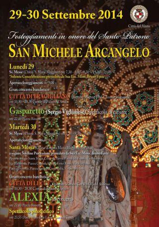 Festeggiamenti per San Michele Arcangelo 2014