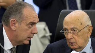 Legnini con il presidente Napolitano