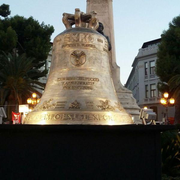 Le Campane Di Agnone.Gran Successo Per La Campana Di Agnone In Esposizione A
