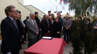 Pagliarelli: inaugurazione scuola