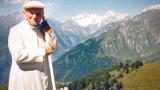 Giovanni Paolo II sulle montagne d'Abruzzo