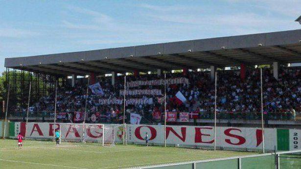 Vastese: la Curva d'Avalos dello Stadio Aragona