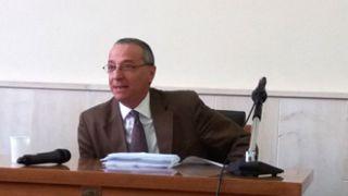 Bruno Giangiacomo, presidente del Tribunale di Vasto