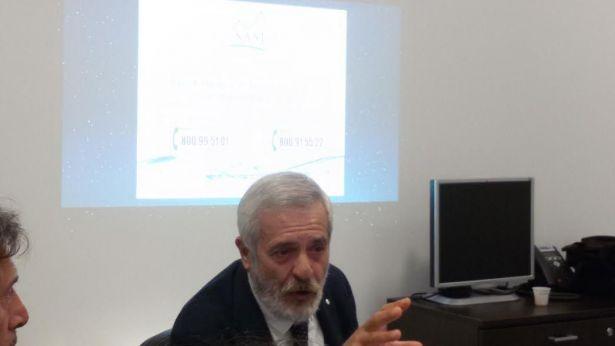 Il Presidente Gianfranco Basterebbe