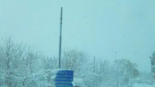 Neve alta a Guardiagrele
