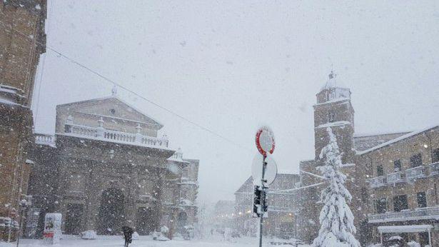 Neve a Lanciano