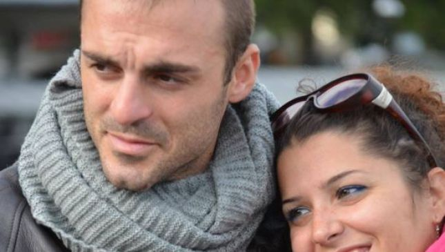 Fabio Di Lello e la moglie Roberta Smargiassi