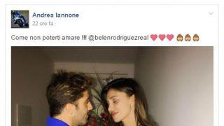 Iannone con Belen