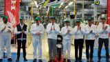 Cerimonia nello stabilimento Honda di Atessa