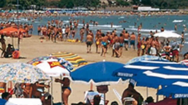La spiaggia di Vasto Marina