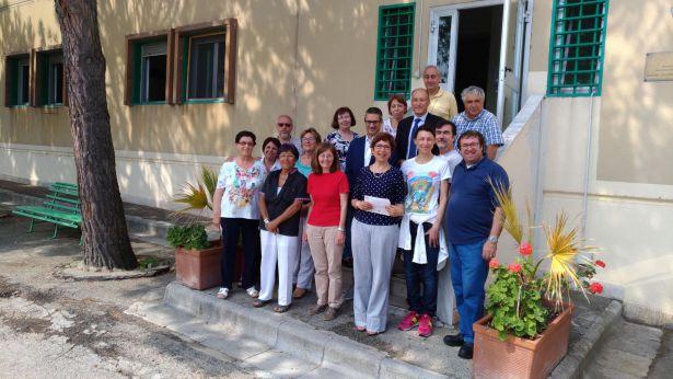 I volontari della Comunità di Sant'Egidio a Vasto