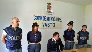 Polizia di Stato: il dott. Capaldo nel corso della conferenza stampa