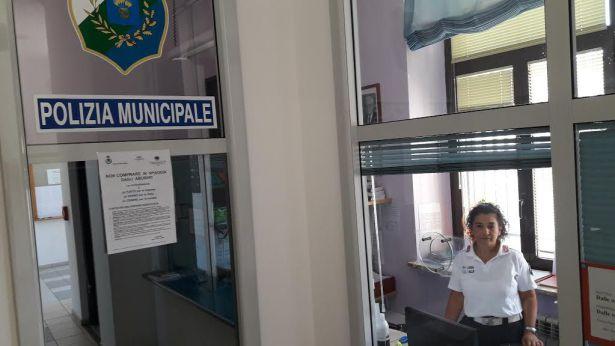 Gli uffici della Polizia Urbana di San Salvo