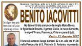 Necrologia di Benito Iacovitti