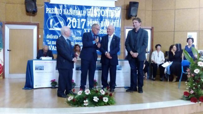 La premiazione di Nicola Marini
