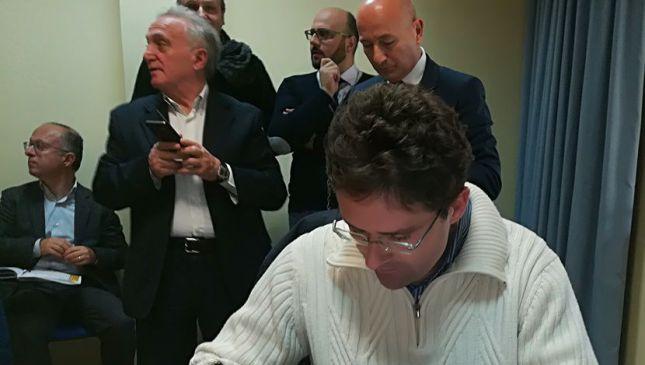 Il Sindaco Menna firma la convenzione