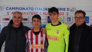Carice e Alonzi con il presidente Bolami ed il co-presidente Scafetta