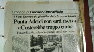 """L'articolo pubblicato su """"Il Centro nel gennaio del 1988"""
