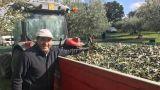 Di Pietro in veste di agricoltore