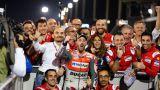La gioia del team Ducati