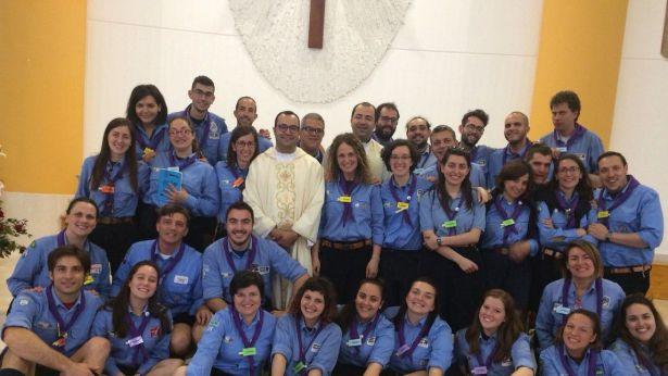 I capi scouts nella Chiesa di San Marco Evangelista