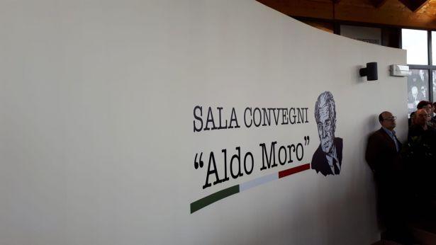 Inaugurazione Sala Aldo Moro