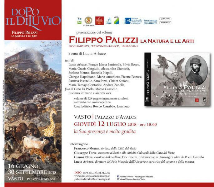 Filippo Palizzi La Natura E Le Arti Un Volume Dedicato All