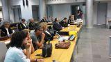 L'aula del Tribunale di Pescara