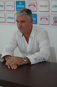 Il presidente Franco Bolami