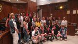 Gli studenti di Perth ricevuti in Comune