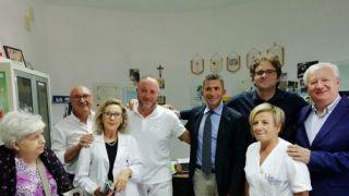 Inaugurazione nuovo servizio sanitario