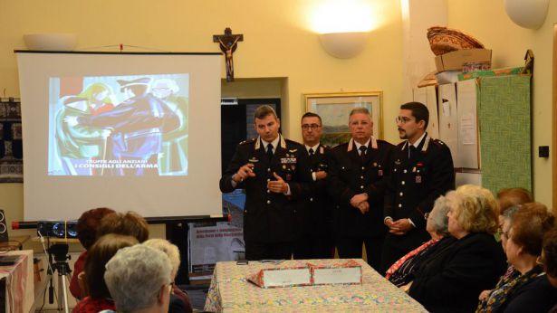 Truffe agli Anziani: iniziativa dell'Arma dei Carabinieri