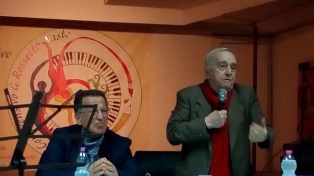 Il Prof. Clemente Di Iulio ed il prof. Ivan Aloè