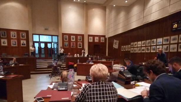 Vasto: l'aula del Consiglio Comunale