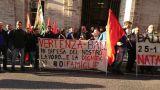 Lavoratori della Ball dinanzi al Ministero a Roma