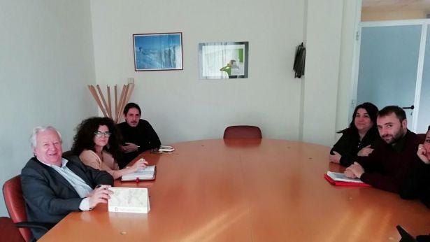 Flacco incontra i rappresentanti dell'USB