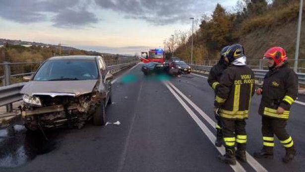 Una immagine dell'incidente
