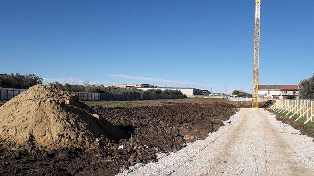 San Salvo: il sito dove sorgerà il nuovo polo scolastico