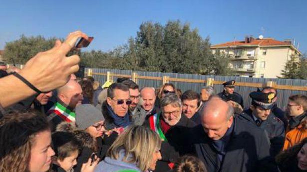 San Salvo: la presenza del ministro Bussetti