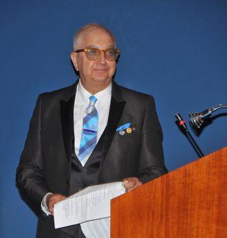 Adri Cesaroni, presidente del Rotary Club di Vasto