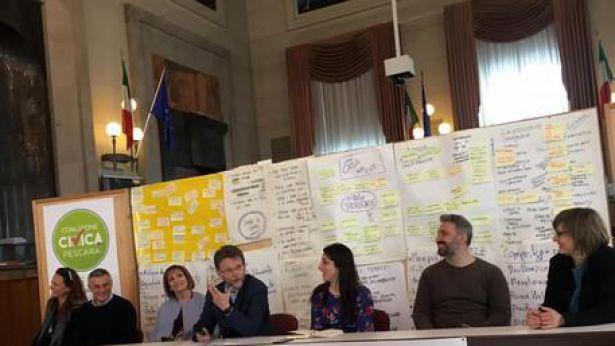 Pescara: conferenza stampa di Civitarese