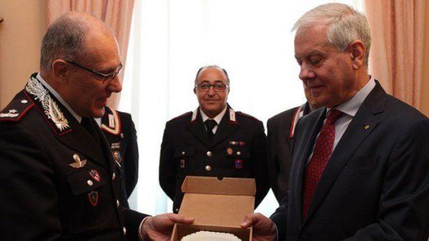 Il Prefetto ricevuto dal Comandante Generale
