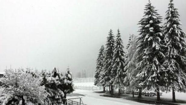 Neve in primavera inoltrata